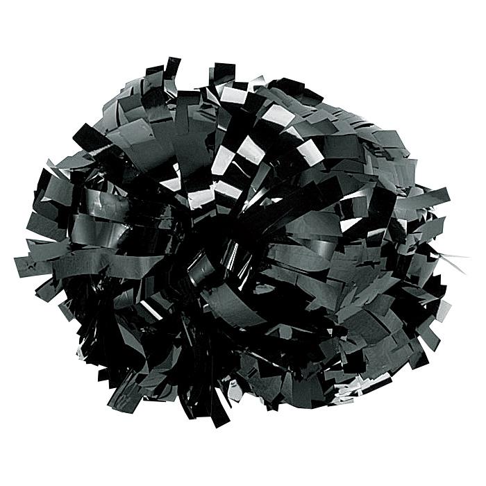 ヴィーナスポンポン 単色|No.112ブラック(メタリック)